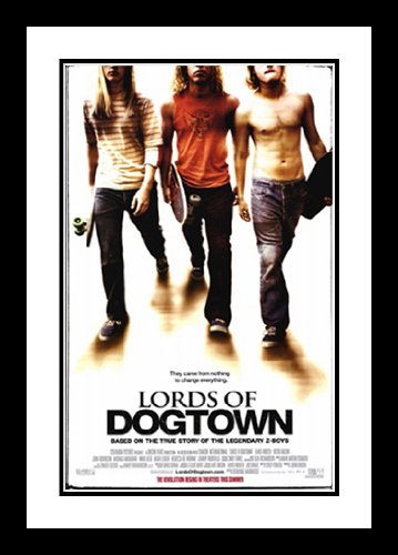 - ArtDirect Lords of Dogtown 20x26 Framed and Double Matted Movie Poster - Style A