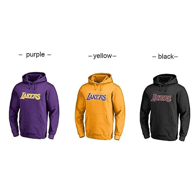 CCKWX Los Angeles Lakers # 23 James Jugó con Capucha De Formación ...
