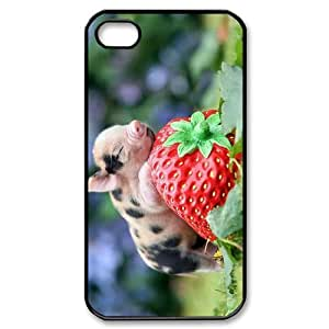ALICASE Diy Customized hard Case Cute Pig For iphone 5c [Pattern-1]