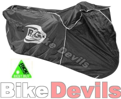 R&G RACING SUPERBIKE OUTDOOR WATERPROOF MOTORCYCLE COVER RIDE RECOMMENDED