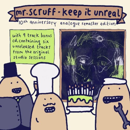 Mr. Scruff-Keep It Unreal 10th Anniversary Analogue Remaster Edition-REISSUE REMASTERED-2CD-FLAC-2009-VOLDiES Download