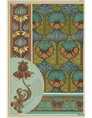 """2021 Weekly Planner: Art Nouveau 2021 Weekly Calendar With Goal Setting Section and Habit Tracking Pages, 6""""x9"""""""