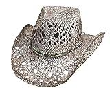 Montecarlo Bullhide Hats GONE CRAZY Toyo Straw Cowboy Western Hat (Small)
