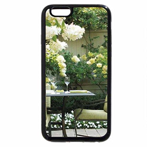 iPhone 6S / iPhone 6 Case (Black) Garden Table