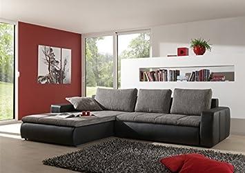 Moderne Sofa Garnitur Belessa Mit Bettfunktion Hochwertige