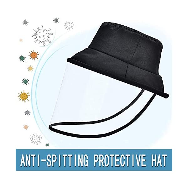Anti-Fog Adjustable Dental Full Face Shield Protective Hat Cover Anti-Spitting Safety Mask Peaked Cap for Men Women