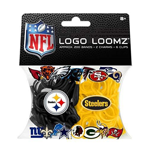 (NFL Pittsburgh Steelers Logo Loomz Pack)