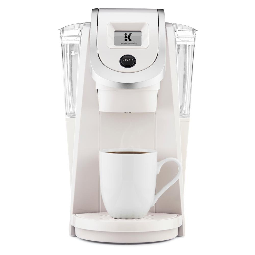 Keurig K200 Plus Series 2.0 Single Serve Plus Coffee Maker Brewer - Sandy Pearl K2.0 200 Plus Series