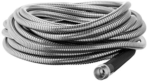 Bionic Steel 304 Stainless Steel Metal Garden Hose – Lightweight, Kink-Free, and Stronger Than Ever, Durable and Easy to Use