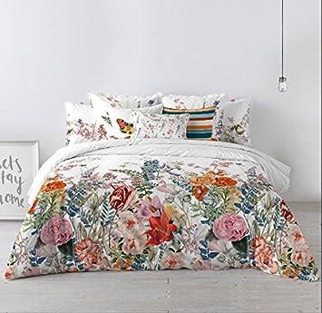 Happy Friday Botanical Bettbezug Set Weiche Baumwolle 508 X 3556