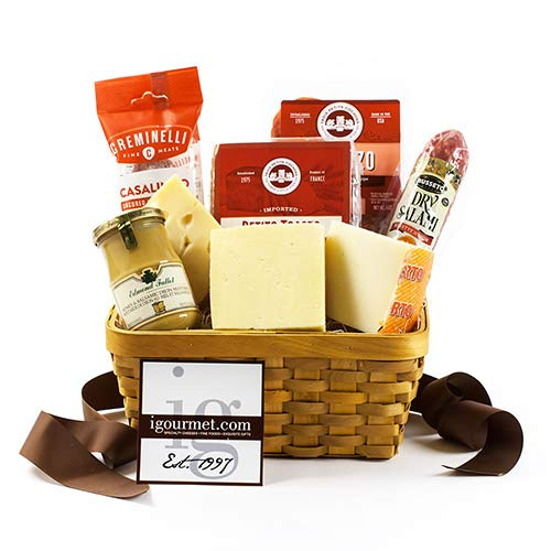 - Basket of Meat and Cheese Favorites (5.1 pound) by igourmet