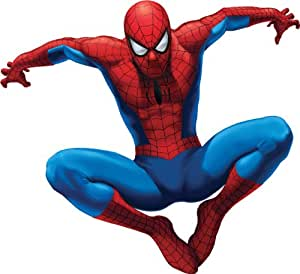 RoomMates RMK1078GSCS Amazing Spiderman Stick Peel and Giant Wall Decal