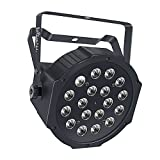 Laluce® 18 LED Super Wonderful Par LED Stage Light RGB Magic Effect Light DMX512 Disco DJ Stage Lighting Party Essential - 630003