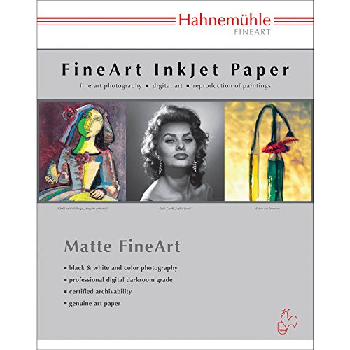 Hahnemuhle Museum Etching Deckle Edge Fine Art Paper (8.5 x 11