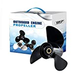 Max Motosports Propeller fit Johnson Evinrude OMC 13-1/2x15 Prop 13.5'' x 15'' Pitch 0765182