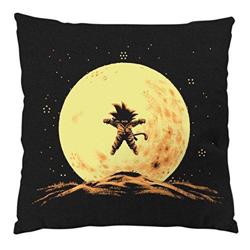style3 Flying Goku Cojín con Relleno 28 × 28 cm Funda de algodón
