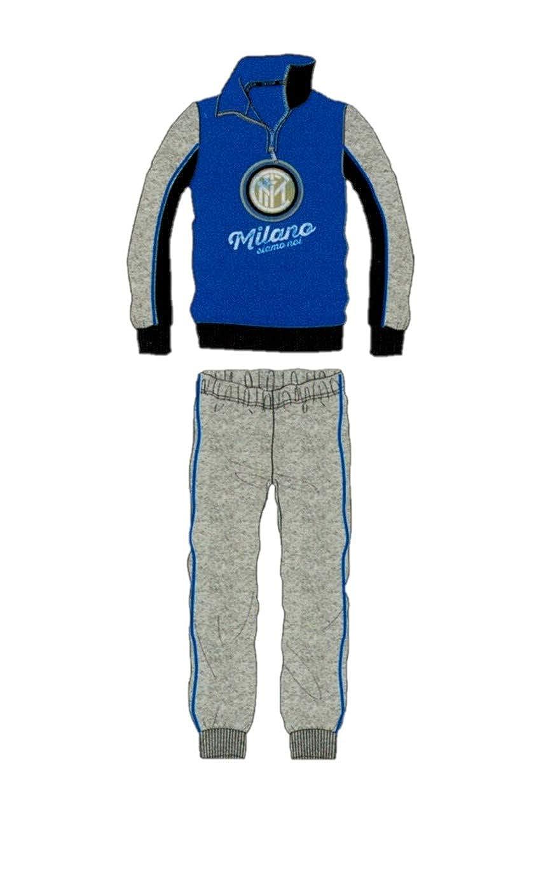 Inter Tuta//Pigiama Mezza con Zip Invernale Official Product