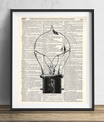 vintage-light-bulb-1-upcycled-dictionary-art-print-8x10