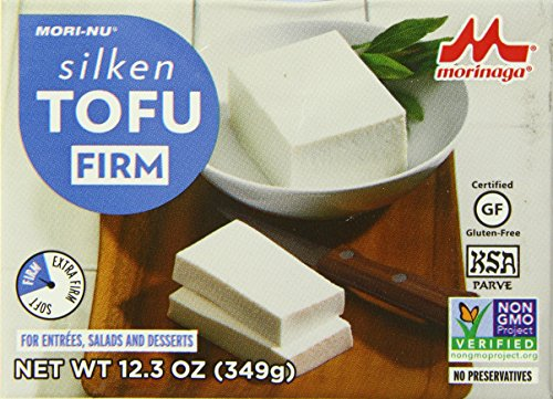 Mori-Nu Tofu, Tofu Firm, Blue, 12.3 Ounce (Pack of 12)