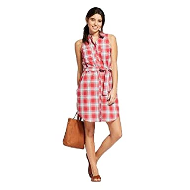 39696ed62 Image Unavailable. Image not available for. Color: Universal Thread Women's  Plaid Shirt ...
