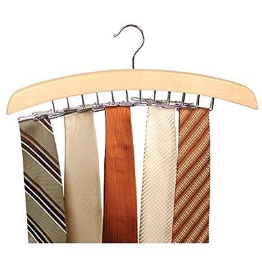 Richards Tie Hanger holds 24 ties
