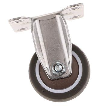 Sharplace Ruedas Giratorias Juego de Goma Rollos para Muebles Pesados: Amazon.es: Bricolaje y herramientas