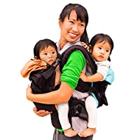 TwinGo Original Baby Carrier with Versatile Strap System for Tandem or Single...