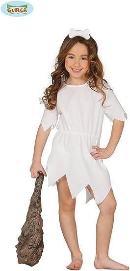 Disfraz de Vilma Picapiedra infantil 5-6 años: Amazon.es: Juguetes ...