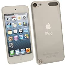 iGadgitz Clear Transparent PC Hard Case Cover for Apple iPod Touch 6th Generation (July 2015 onwards) & 5th Generation (2012-2015) + Screen Protector