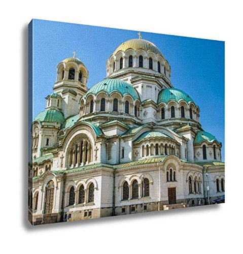 Ashley Canvas, The St Alexander Nevsky Cathedral In Sofia Bulgaria, Home Decoration Office, Ready to Hang, 20x25, AG5913436 by Ashley Canvas
