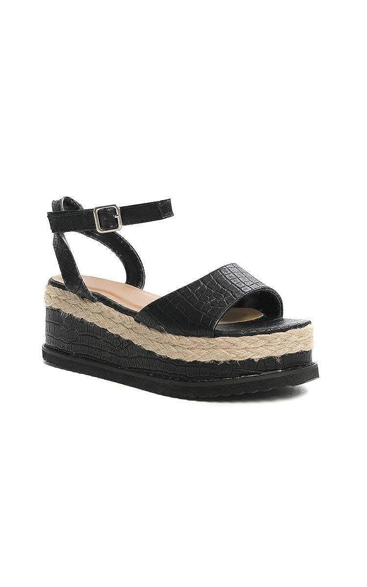 IKRUSH Womens Eva Flatform Sandals