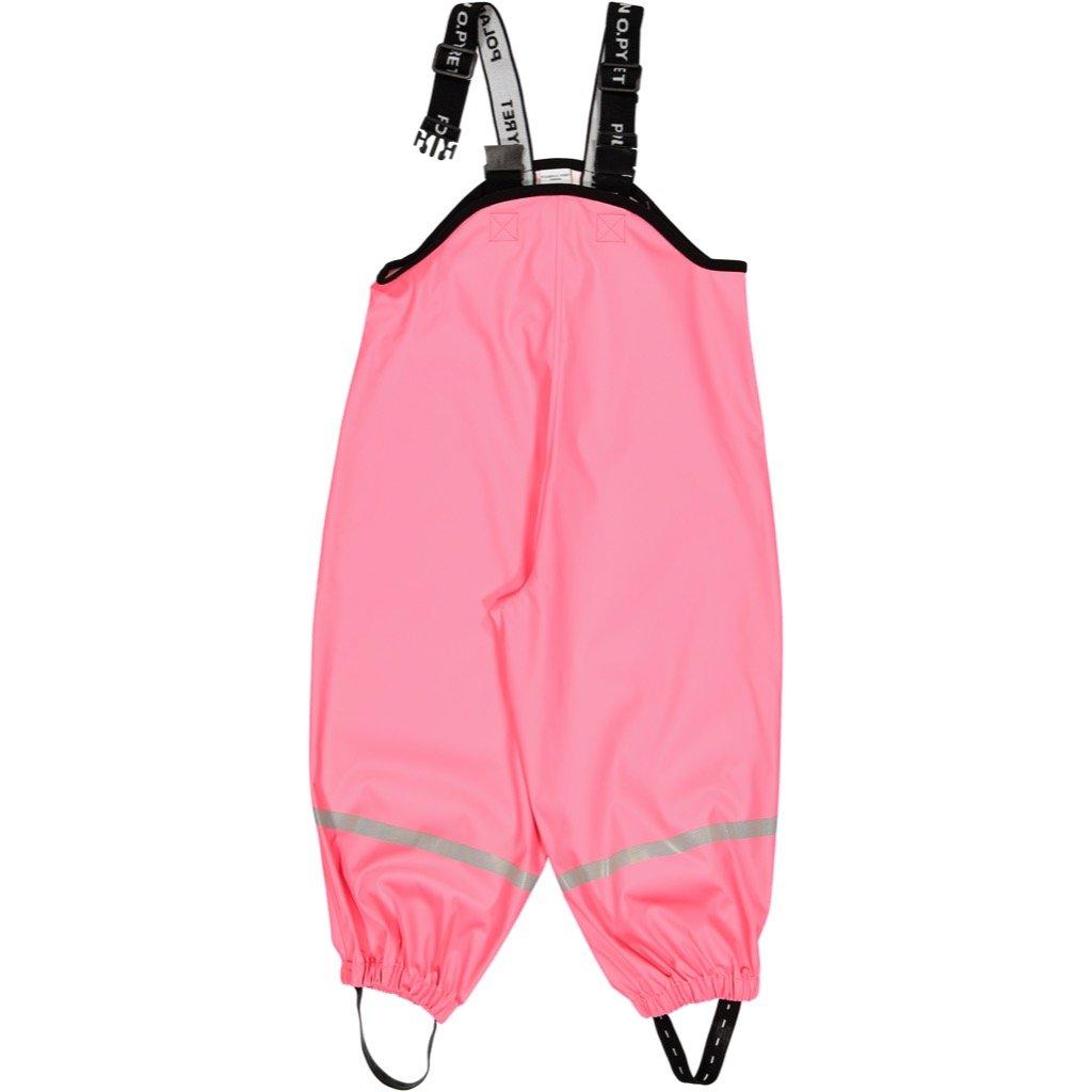 Polarn O. Pyret Waterproof RAIN Pants (2-6YRS) - Pink Lemonade/4-6 Years by Polarn O. Pyret