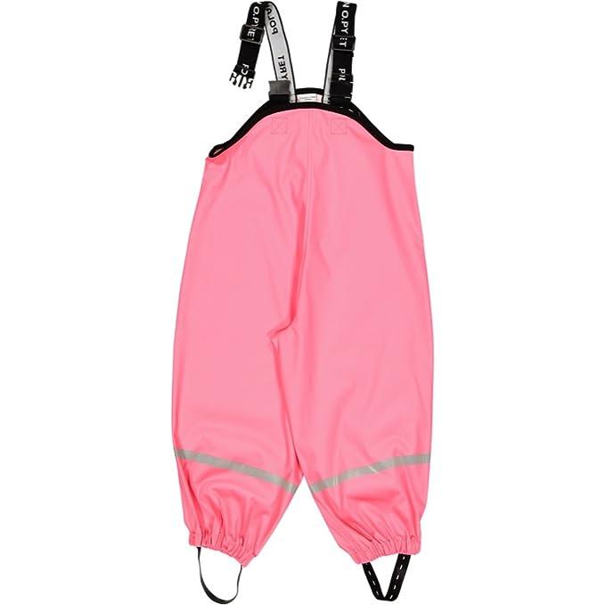 Amazon.com: Polarn O. Pyret impermeable pantalones de lluvia ...