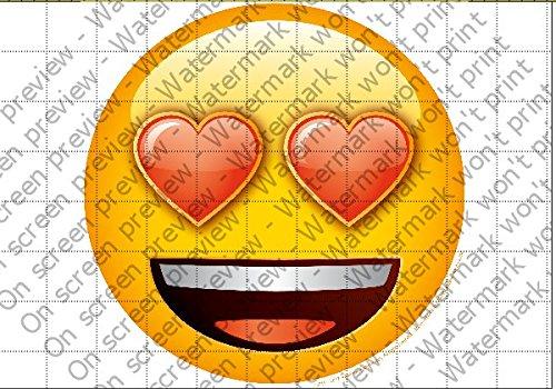Amazon.com: Emoji ojos de corazón 8