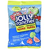 JOLLY RANCHER Fruity Sour Chewy Christmas Candy, Gift, 182 Gram