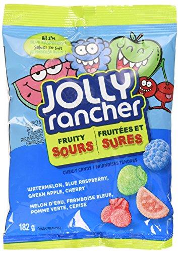 Jolly Rancher Gummies (Jolly Rancher Fruity Sour Chewy Candy, 182-Gram 6.41 ounces)