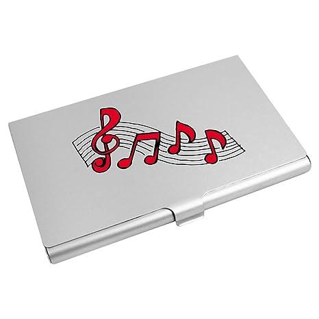 Azeeda Notes De Musique Porte Carte Visite Crdit
