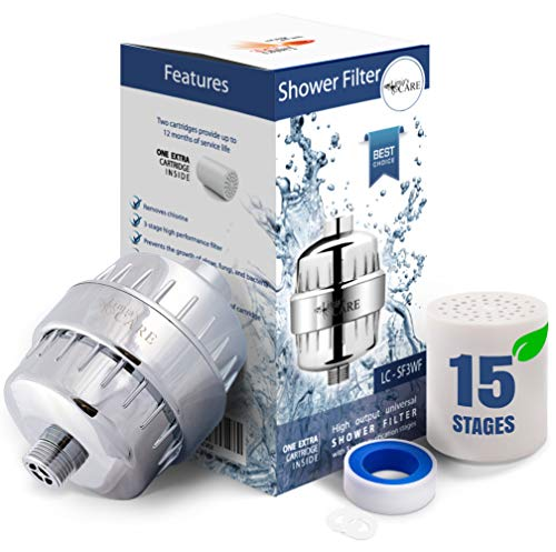 shower water filter head - 2