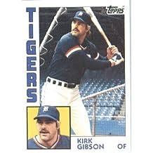 1984 Topps Baseball Card #65 Kirk Gibson Mint