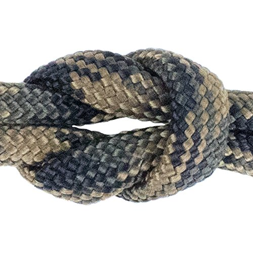 (West Coast Paracord - Paracord/Parachute Cord 7 Strand Type III 550 lb. Break Strength Made by US Government Contractors, 550 Survival Cord, Made in USA Tactical Camo, 50 Feet)