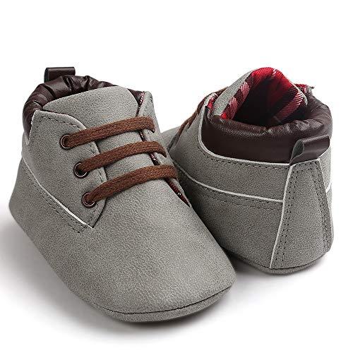 Pasos Antideslizante Primeros De 18 Zapatos Mes Niña Gusspower Niño Suave Bebé Lindos Niño Lona Para Nacido 0 Recién Gris dOPqrO