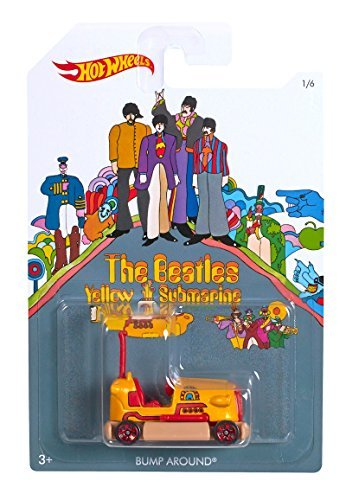 Hot Wheels 2016 The Beatles Yellow Submarine Collection Bump Around