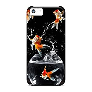 Hot Style Protective Case Cover For Iphone5c(goldfish)