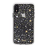 Sonix Starry Night Case for iPhone XR [Military Drop Test Certified] Protective Gold Silver Stars Clear Case for Apple iPhone XR