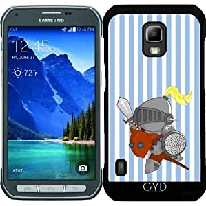 Funda para Samsung Galaxy S5 Active - Poco Caballero En Armadura by Los dibujos de Alapapaju