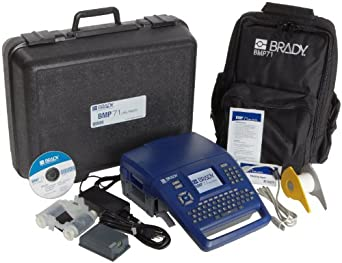 Brady BMP71 Label Printer with Soft Case and USB Connectivity