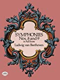 beethoven symphonies dover - Symphonies Nos. 8 and 9 in Full Score (Dover Music Scores)