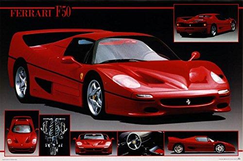 Ferrari F 50 Poster 36 x 24in