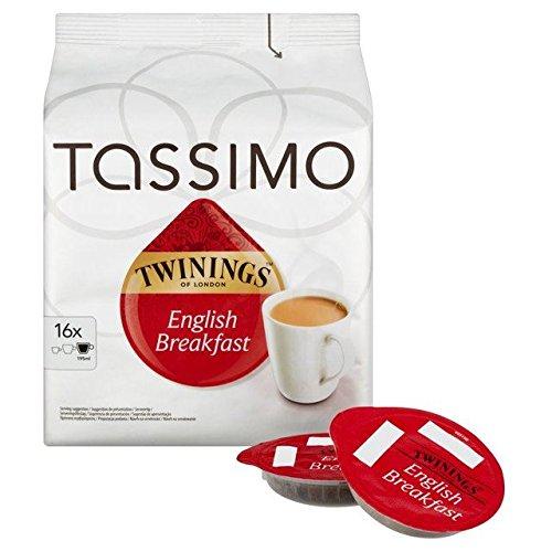 Tassimo Twinings Breakfast Tea Disc - 16 x 2.5g (Drinks Tassimo Hot)