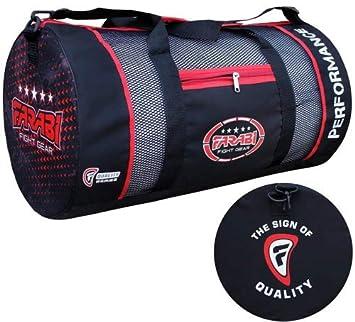 MMA Red Farabi Fitness-Studio Fitness Sportzeug Tasche Reisetasche Boxen Ausr/üstungstasche